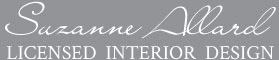 suzanne allard licensed interior design logo
